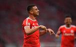 1º colocado - Internacional (36 pontos) – 13,2% de chance de título; 75,7% para vaga na Libertadores (G6); 0,026% de chance de rebaixamento.