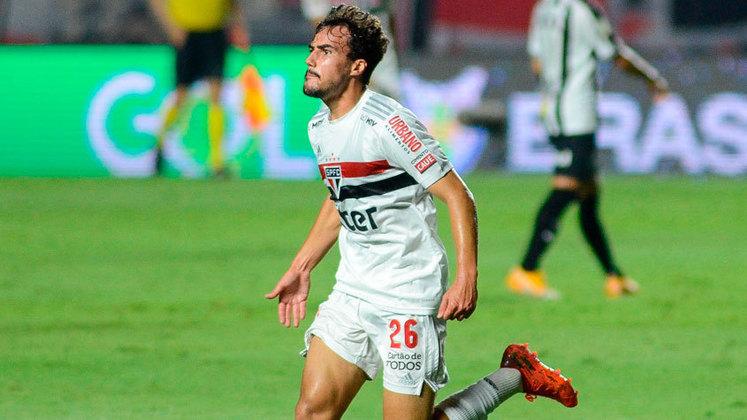 1º colocado – São Paulo (56 pontos/29 jogos): 48.7% de chances de ser campeão; 99.45% de chances de Libertadores (G6); 0% de chance de rebaixamento.