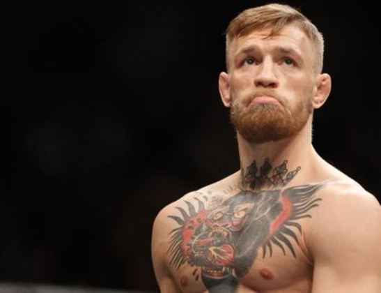 #1 Conor McGregor - Lutador de MMA - Idade: 32 anos - Ganho total: 180 milhões de dólares.