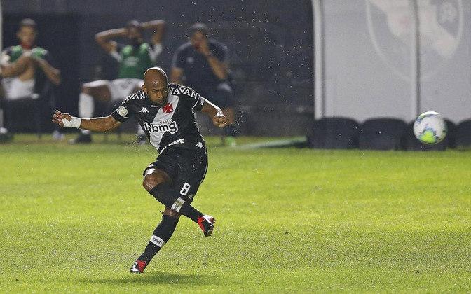1º - Fellipe Bastos - Vasco - 3 gols