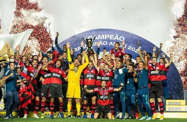 1° - Flamengo (37,90 milhões de torcedores) - 12 títulos: Uma Libertadores (2019), uma Recopa Sul-Americana (2020), duas Supercopa do Brasil (2020 e 2021), dois Campeonatos Brasileiros (2019 e 2020), uma Copa do Brasil (2013) e cinco estaduais (2014, 2017, 2019, 2020 e 2021).
