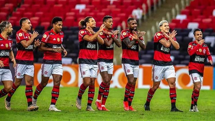 1º - Flamengo: Total – 40.506.415 milhões de inscritos