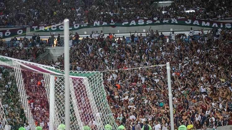 1-Fluminense 1 x 1 Corinthians -Sul-Americana - 29/08/2019 - 53.237 pagantes e 57.703 presentes.