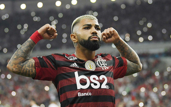 1º - Gabriel Barbosa (Inter de Milão - Flamengo) - 2020 - R$ 79 milhões.