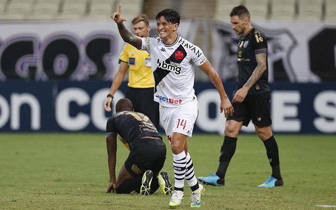 1º - Germán Cano - Vasco - 3 gols