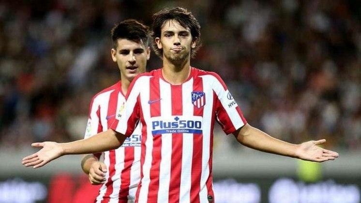 1º - João Félix - Atlético de Madrid - Valor de mercado: € 100 milhões (R$ 639,07 milhões)