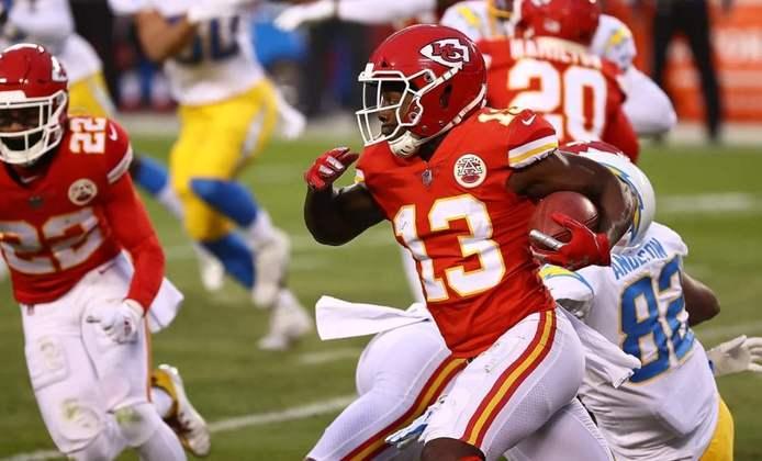 1º Kansas City Chiefs (14-2): Verdade seja dita, os Chiefs ainda são o time a ser desbancado na NFL. Com Mahomes gigante, são os favoritos ao Super Bowl.