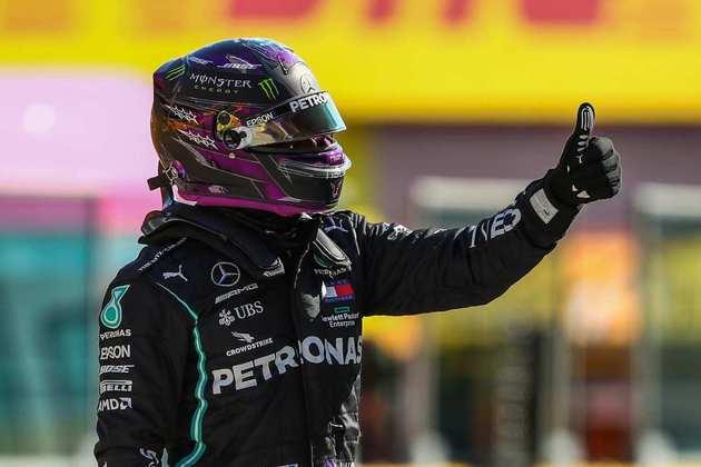 1) Lewis Hamilton (Mercedes), 1min15s144