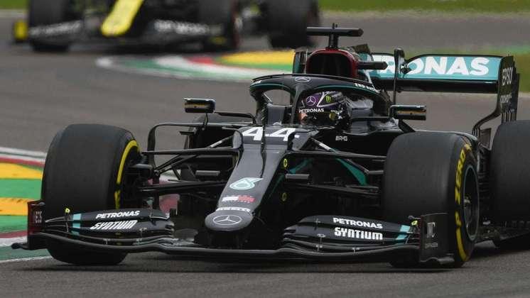 1º - Lewis Hamilton (Mercedes): 9.10 - Triunfou mesmo com largada ruim. Ritmo excepcional para conseguir overcut
