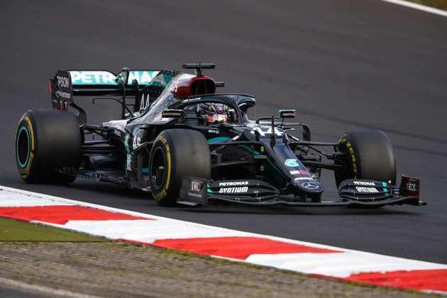 1º - Lewis Hamilton (Mercedes) - 9.58 - Inglês brilhou na conquista da 91ª vitória da carreira