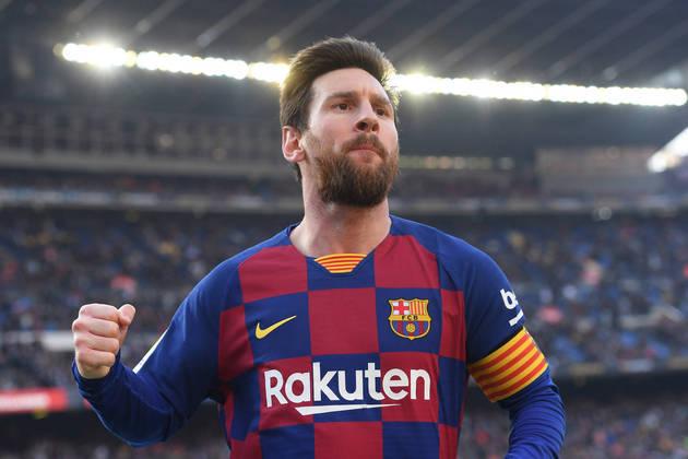 1 - Lionel Messi (Barcelona-ESP):  R$ 561 milhões anuais.