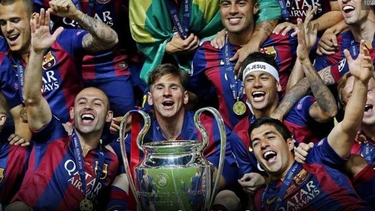 1º lugar: Barcelona - 2877 pontos.
