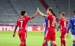 1º lugar: Bayern de Munique (Alemanha/nível 3) - 260 pontos