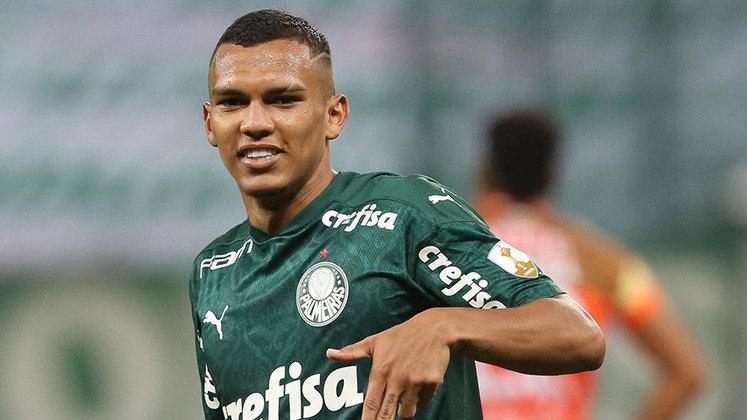 1º lugar: Gabriel Veron - Ponta-direita - Palmeiras - 18 anos - Valor de mercado segundo o site Transfermarkt: 25 milhões de euros (aproximadamente R$ 160,9 milhões)