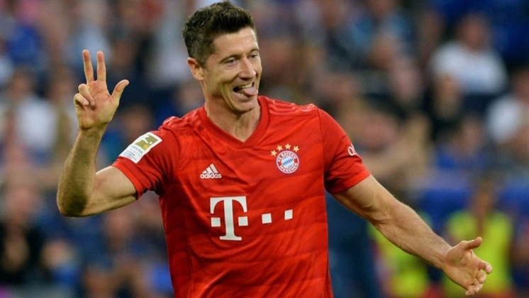 1º lugar: Robert Lewandowski (Bayern de Munique) - 40 gols/ 80 pontos