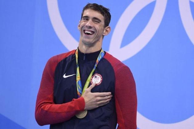 1) Michael Phelps (Estados Unidos) - Natação