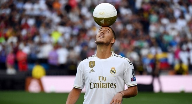 Eden Hazard é o novo astro do Real Madrid