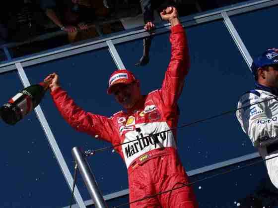 1º - O alemão Michael Schumacher, com 91 vitórias