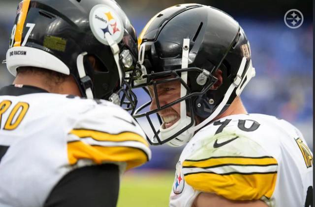 1º Pittsburgh Steelers - Defesa de alto nível e um ataque decente. Receita da invencibilidade.