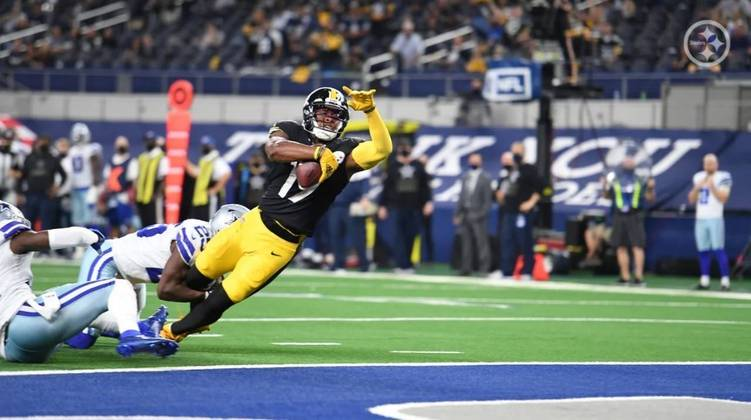 1º Pittsburgh Steelers - Segue invicto após oito partidas, porém sofreu mais do que deveria diante de um fraco Dallas Cowboys. Sinal amarelo?