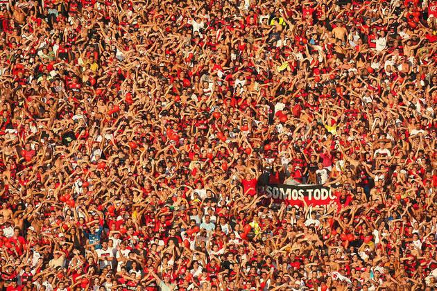 1 – Por fim, o Flamengo é aquele que mais detém os números de inscritos no YouTube, com um total de 3.380.000 pessoas, mais do que o dobro do que o segundo colocado