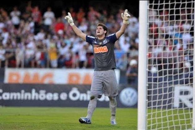 1. Rafael Cabral: Atualmente no Reading-ENG, o jogador deixou o Santos em 2013, transferindo-se ao Napoli-ITA. Também atual pela Sampdoria-ITA.
