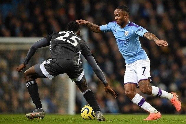 1. Raheem Sterling: Atacante - 128 milhões de euros (Manchester City) - Sterling lidera a lista dos mais valiosos no Campeonato Inglês. O atacante ficou em quarto na artilharia do último Campeonato Inglês.