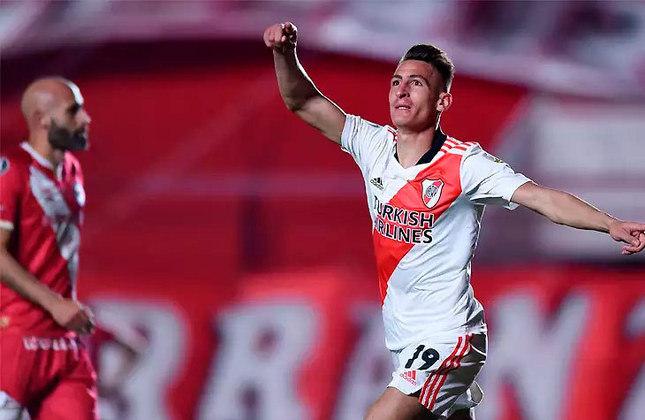1 - River Plate (ARG)   Em primeiro lugar no ranking, o River Plate soma 181 vitórias em 372 jogos. O último triunfo dos Milionários foi diante do Argentino Jrs, pelo placar de 2 a 0 no jogo de volta das oitavas de final da Libertadores de 2021.