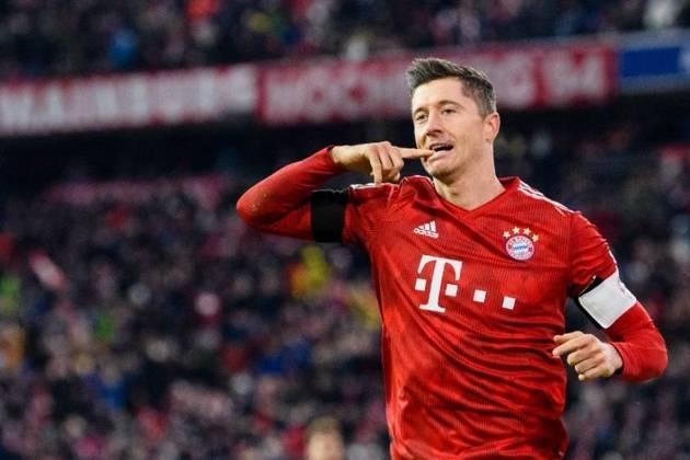 1º - Robert Lewandowski (Bayern de Munique) - 29 gols – 58 pontos