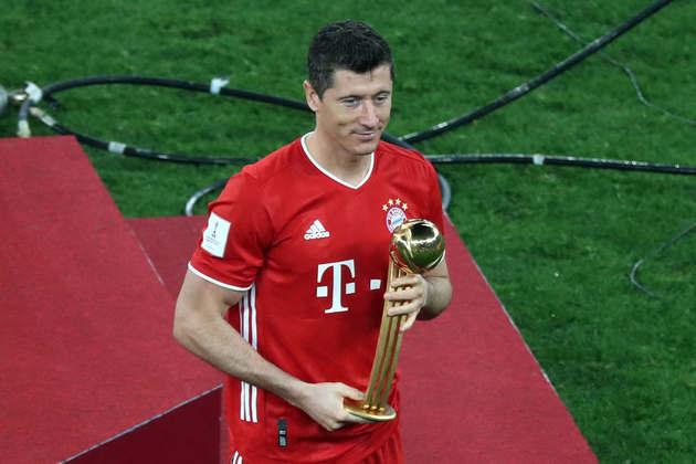 1º: Robert Lewandowski (Bayern de Munique) - 35 gols / 70 pontos