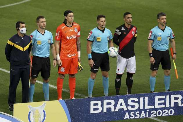 1ª Rodada - 30/5/2021 (domingo) - 18h15 - Corinthians x Atlético-GO - Neo Química Arena - Premiere