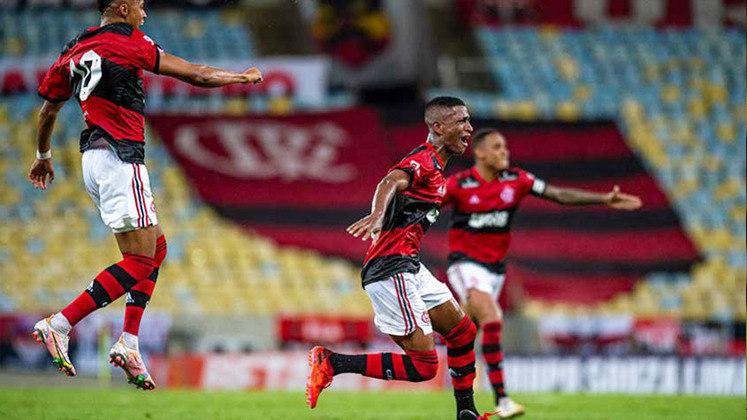 1ª rodada: Flamengo 1x0 Nova Iguaçu (Maracanã - 02/03/2021) - Gol do Flamengo: Max
