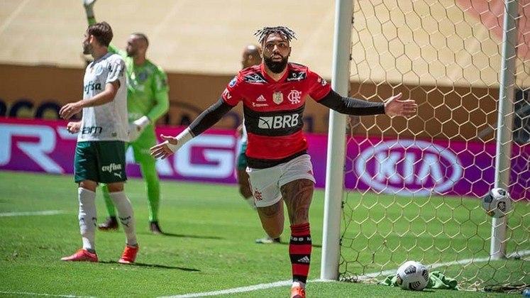 1ª rodada - Flamengo x Palmeiras - 30/05 - 16h (de Brasília) - Maracanã.