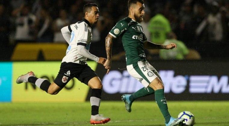1ª rodada - Palmeiras x Vasco - O Verdão tem vínculo com a Turner, enquanto o Cruz-Maltino acertou seus direitos de transmissão com a Rede Globo.