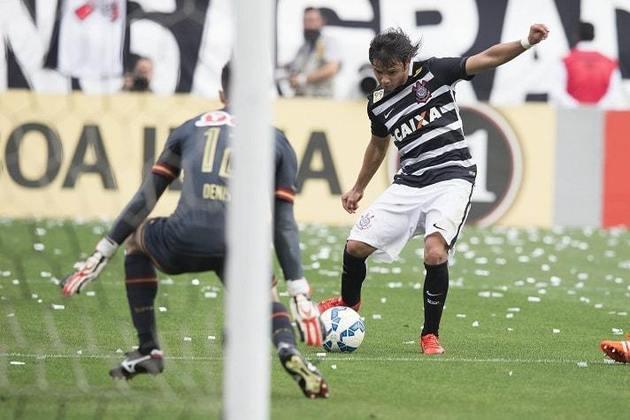 1) Romero - 3 gols - marcou dois gols na história goleada por 6 a 1 na 36ª rodada do Brasileirão-2015 (22/11/2015) e outro na vitória por 3 a 2 na 6ª rodada do Brasileirão-2017 (11/6/2017).