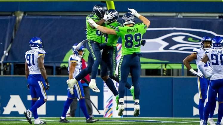 1° Seattle Seahawks: Invicto e com um Russell Wilson pegando fogo. Seahawks estão imbatíveis neste momento