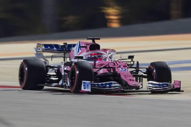 1º - Sergio Pérez (Racing Point) - 9.98 - Brilhante e no hall dos vencedores da F1.