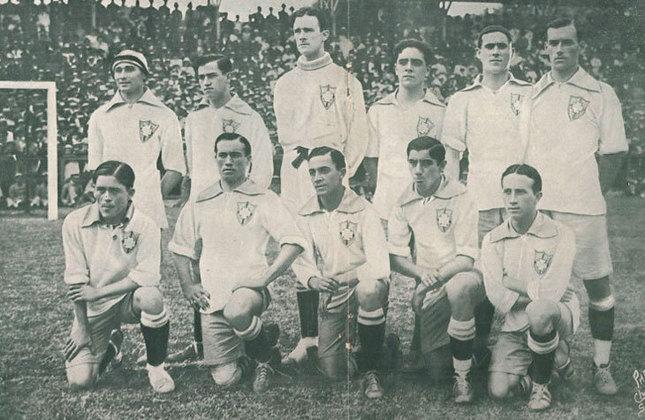 1º título: 1919 - Vice: Uruguai