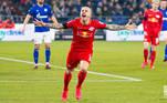 10º: Angeliño - Lateral-esquerdo - 24 anos - Último clube: Manchester City - Destino: RB Leipzig - Valor do negócio: 18 milhões de euros ( aproximadamente R$ 106,75 milhões)