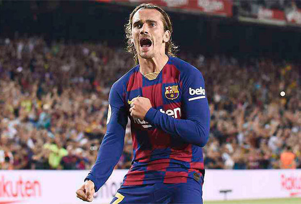 10- Antoine Griezmann (Barcelona) – 28 milhões de euros (cerca de R$ 184.5 milhões)