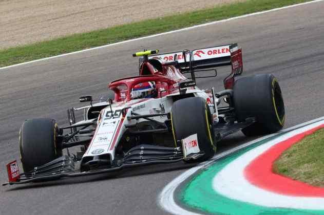 10º - Antonio Giovinazzi (Alfa Romeo): 6.68 - Largou bem de novo e fez grande recuperação para somar pontos