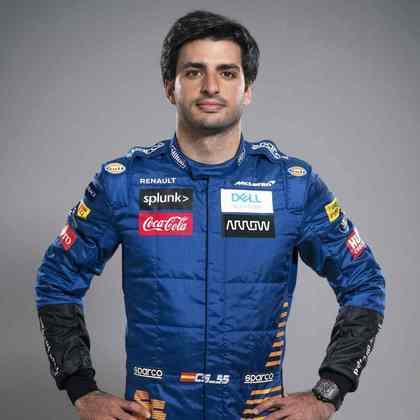 10º - Carlos Sainz (McLaren) - 59 pontos - Melhor resultado: 2º no GP da Itália