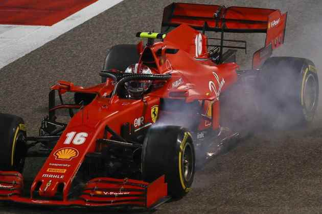 10 - Charles Leclerc (Ferrari) - 5.18: Pouco fez com o horrível motor da Ferrari.