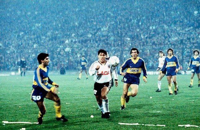 10 - Colo-Colo (CHI)   O Colo-Colo está empatado com o Cruzeiro com 95 vitórias, porém disputou 241 jogos, 75 a mais do que a Raposa. Os chilenos foram campeões da Libertadores uma vez, em 1991, ao vencerem o Olímpia por 3 a 0 no jogo da volta.