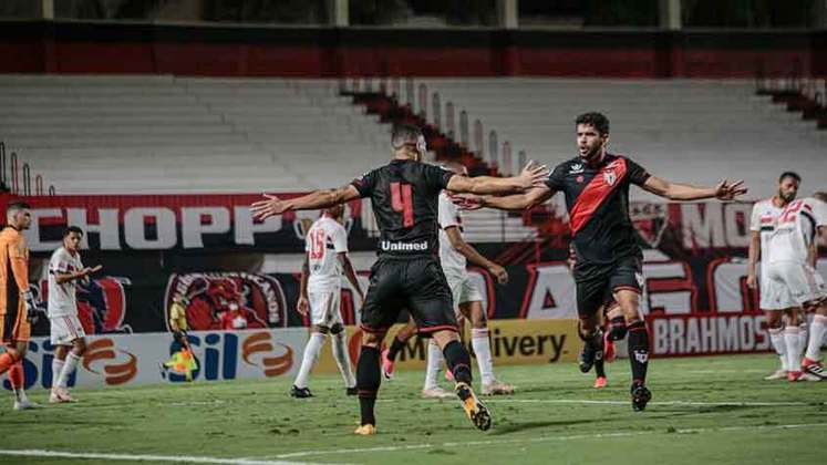 10º colocado – Atlético-GO (15 pontos) – 10 jogos / 2.5% de chances de título; 31.1% para vaga na Libertadores (G6); 6.1% de chance de rebaixamento.