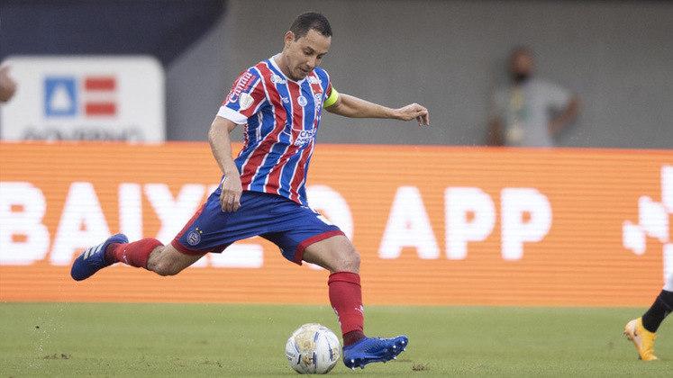10º colocado – Bahia (17 pontos) – 14 jogos / 0.18% de chances de título; 10.2% para vaga na Libertadores (G6); 16.3% de chances de rebaixamento.