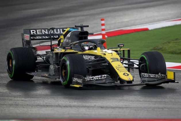 10 - Daniel Ricciardo (Renault) - 4.63 - Muito apagado e ainda atrapalhou o companheiro.