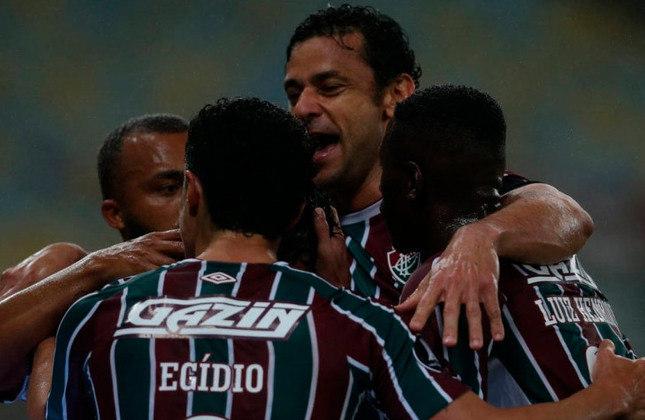 10° - Fluminense - Receitas em 2020: R$ 194 milhões