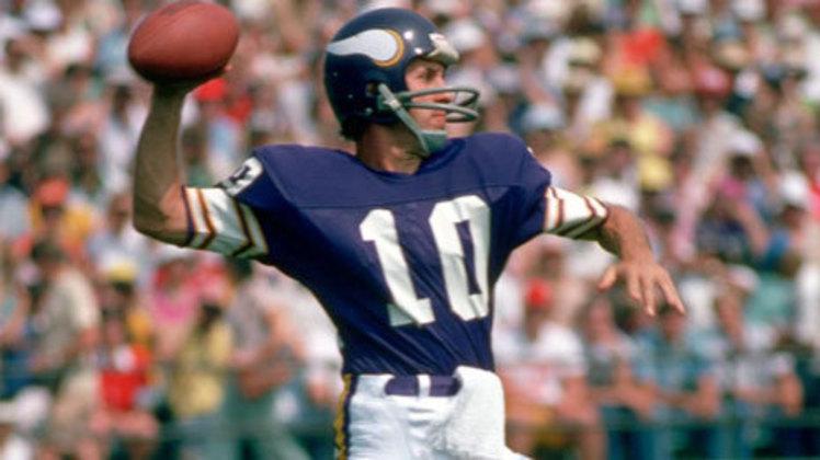 10º Fran Tarkenton - 342 touchdowns