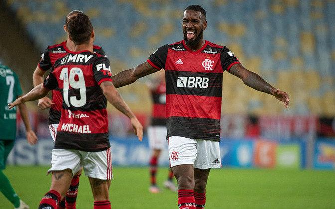 10º: Gerson (Flamengo) - cinco pontos.